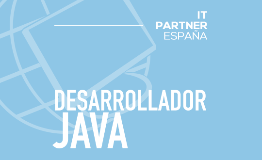Analista Programador Java Senior (H/M) – Madrid