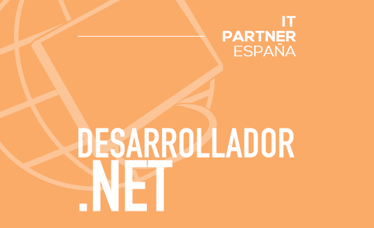 Programador .NET Junior (H/M) – Madrid