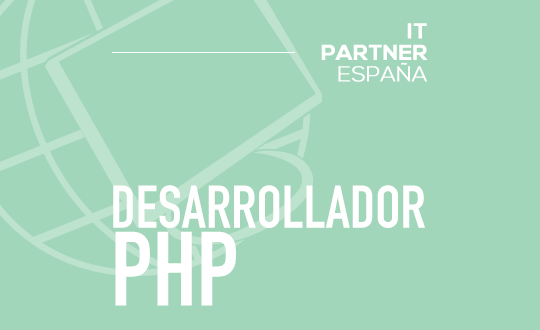 Programador/a PHP Junior – Madrid