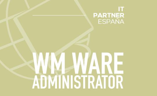 Administrador de sistemas VmWare (H/M) – Valencia
