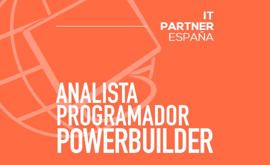 Desarrollador/a PowerBuilder
